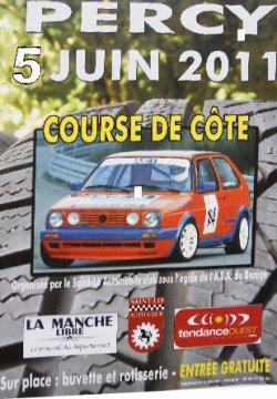 Course de Côte de Percy - 5 Juin 2011