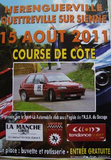 Course de Côte de Quettreville/Hérenguerville - 15 août 2011