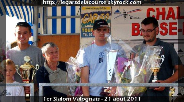 1er Slalom Valognais - 21 août 2011