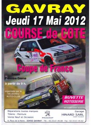 Avant course n°6-2012