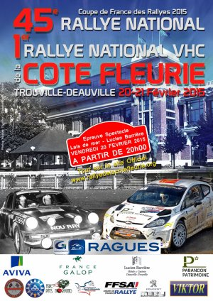 45° Rallye National de la Côte Fleurie
