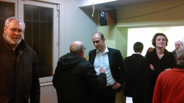 ce soir réunion avec Laurent Sodini