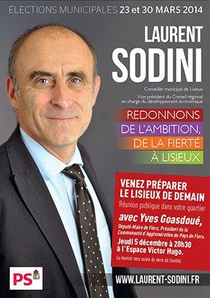 Décidez de l'avenir de Lisieux avec Laurent Sodini
