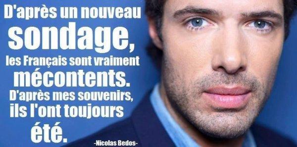 Nicolas Bedos .......