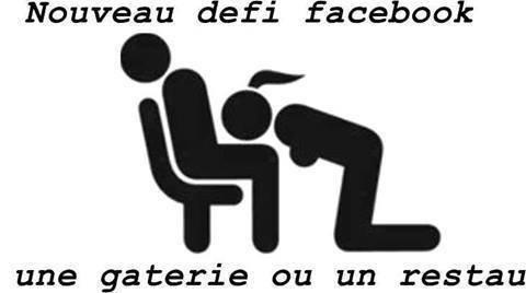 NOUVEAU défi Facebook .........