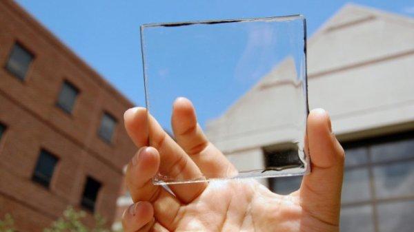 Des panneaux solaires bientôt transparents ?