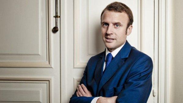 Emmanuel Macron par wikipédia
