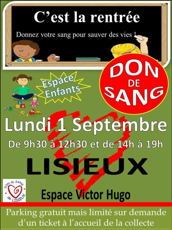 Don du Sang ...........