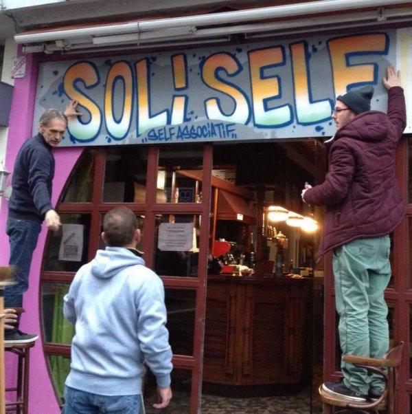 """Nouvelle enseigne """"Soli Self"""" à Lisieux"""