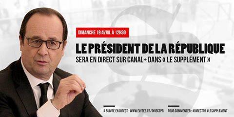 """sur Canal+ dimanche 19 Avril à 12h30 """"en clair"""""""