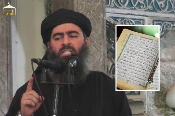 L'Etat Islamique annonce sa dissolution après que son chef a lu le Coran pour la première fois
