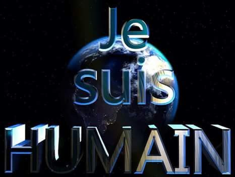 Je suis humain!!!