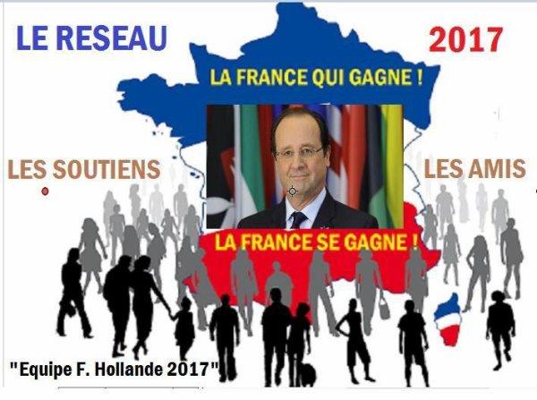 Réélection de François Hollande en 2017