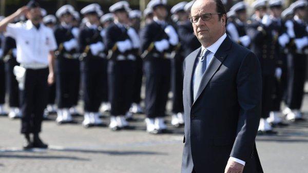 """François Hollande : """"Nous avons bien redressé le pays depuis 4 ans"""""""