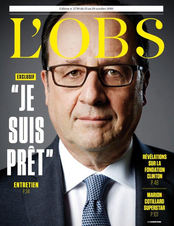 """EXCLUSIF. François Hollande : """"Je suis prêt"""""""