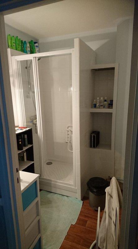ma douche enfin faite <3