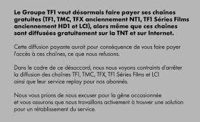 TF1 = ARNAQUE!!!