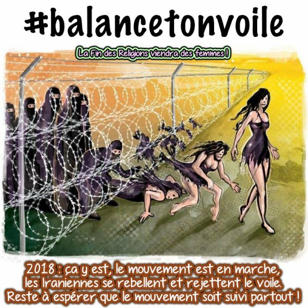 #BALANCETONVOILE