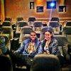 10.07 Jason a posté sur twitter une image d'une projection privée de Sparkle en compagnie de Jordin Sparks