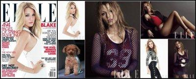 Blake Lively Pour Elle US De Mars 2012