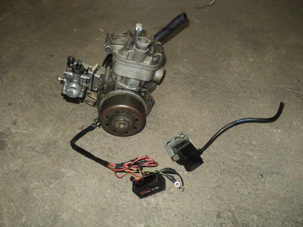 Démontage du moteur pour une remise complête a neuve