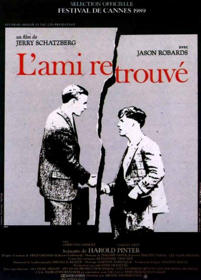 L'ami Retrouvé Le Film (1988) Du livre original de Fred Uhlman.