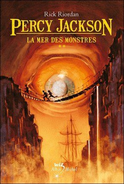 Percy Jackson La mer des monstres Tome II ( LC music-du-31 )
