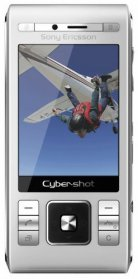 Sony Ericsson C905 Cyber-Shot Full Pack 8MP Camera Silver
