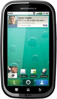 Motorola BRAVO MB520 (Unlocked)