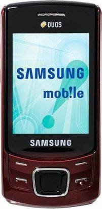 Valentine Deal : - Samsung C6112 RED (Unlocked Quadband)
