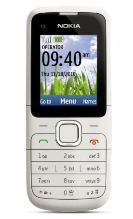 Nokia C1-01 Review, Specification and Price