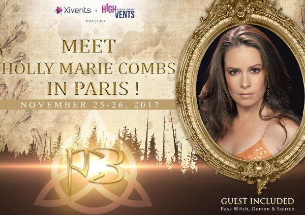 Holly-Marie Combs invité à la convention de 2017.