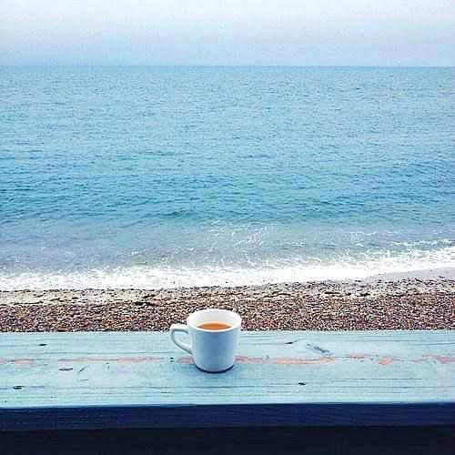 pause mon café devant agréable
