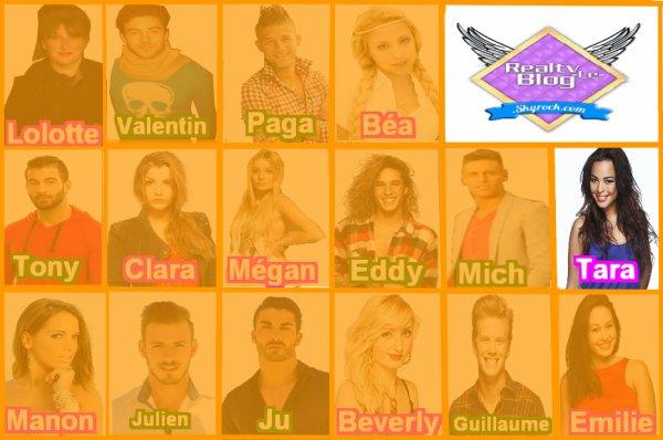 Les candidats de la saison 10