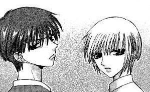 Yuki et Kyo Furuba