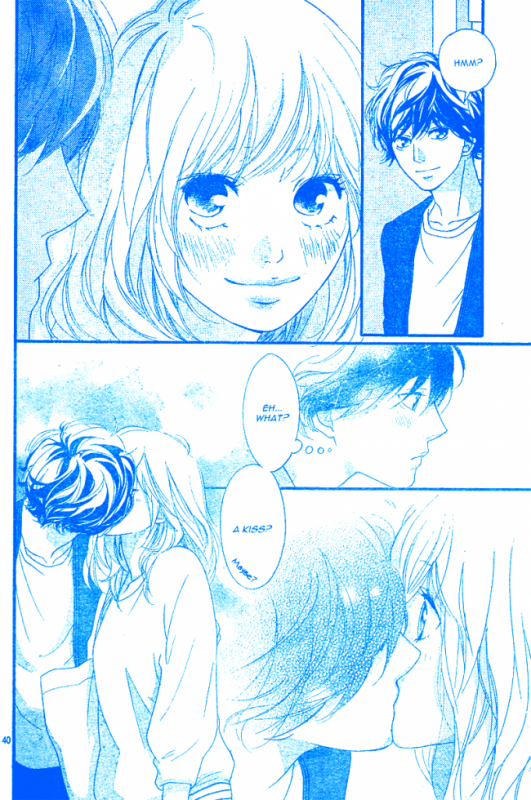 Kiss Ao haru ride
