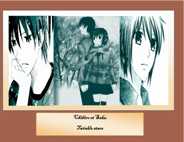 Chihiro et Saku Twinkle stars