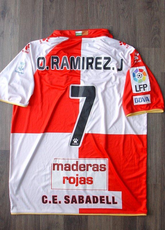 Maillot porté par Oscar RAMIREZ Jr