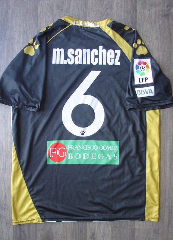 Maillot porté par M. SANCHEZ