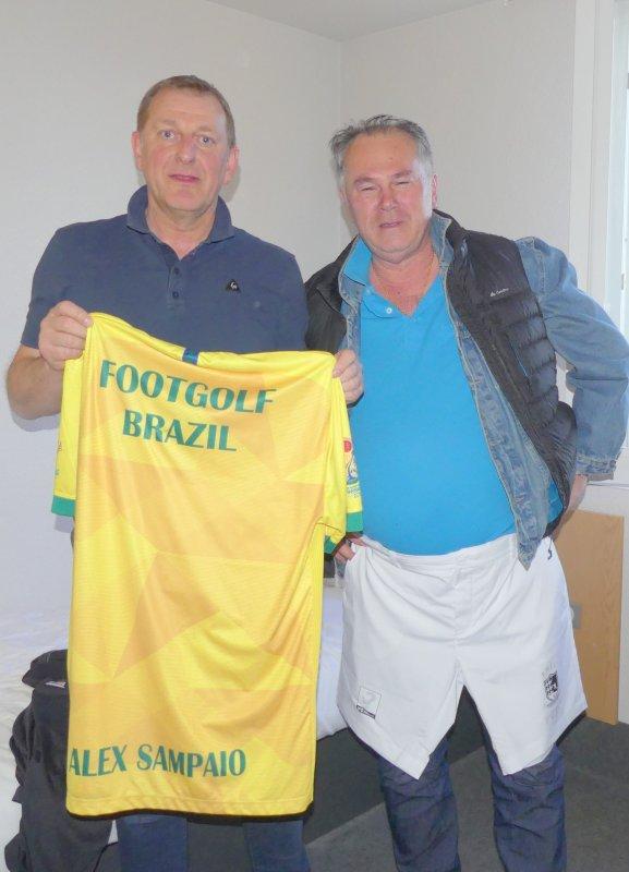 Maillot Footgolf Brésil