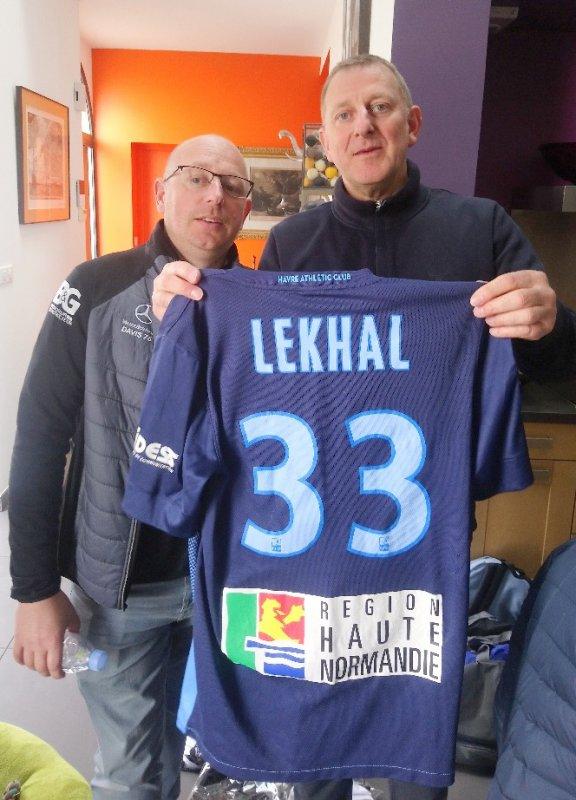 Maillot porté par LEKHAL
