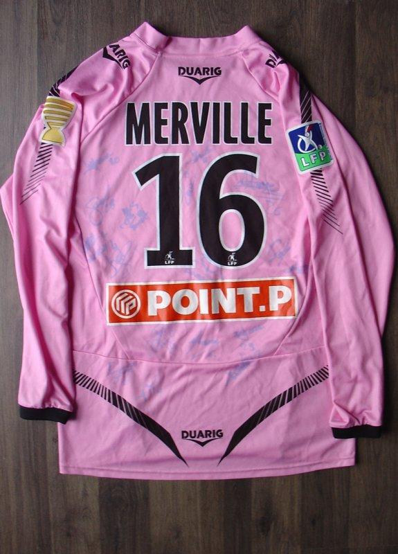 Maillot porté par MERVILLE