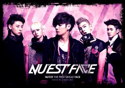 NU'EST  / NUEST - FACE  (2012)