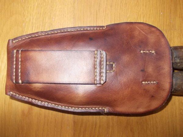 Etui porte pince coupante Peugeot petit modèle 1915 verso