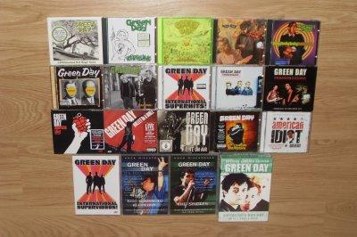 Ma petite collection d'albums de Green Day
