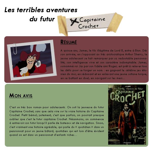Les terribles aventures du futur Capitaine Crochet / J.V. Hart