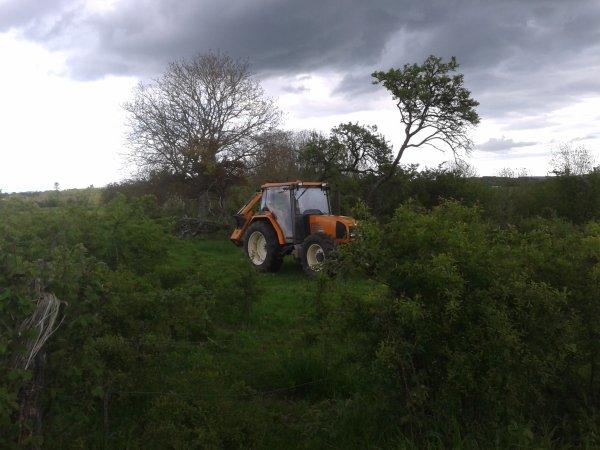 le tracteur d un pot