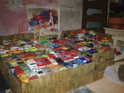 plus de 160 vehicules