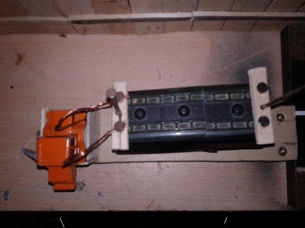 diorama la casse branchement de la cabine