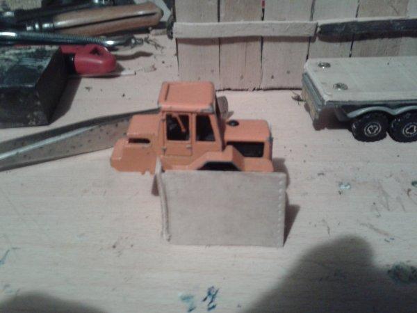 diorama la casse fabrication du socle de la cabine